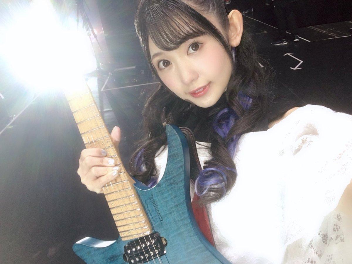 【声優】RAS小原莉子の使用ギターやエフェクター機材を紹介!